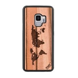 CASE WOODEN SMARTWOODS WORLD MAP SAMSUNG GALAXY NOTE 10