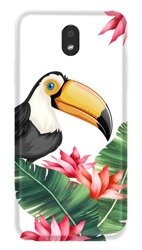 CaseGadget CASE OVERPRINT TOUCAN AND LEAVES LG K30 2019
