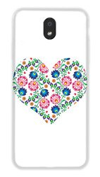 CaseGadget CASE OVERPRINT WHITE HEART LG K30 2019
