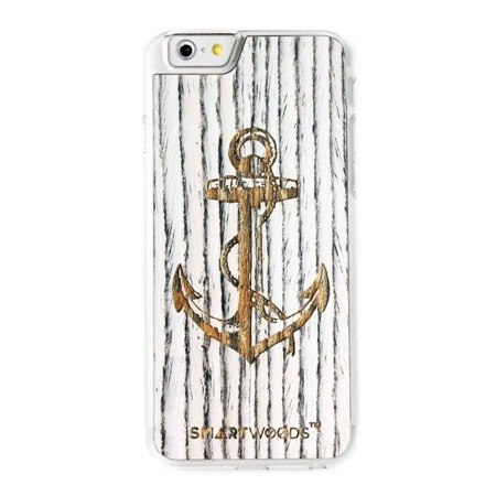 CASE WOODEN SMARTWOODS ANCHOR CLEAR IPHONE 6 / 6S
