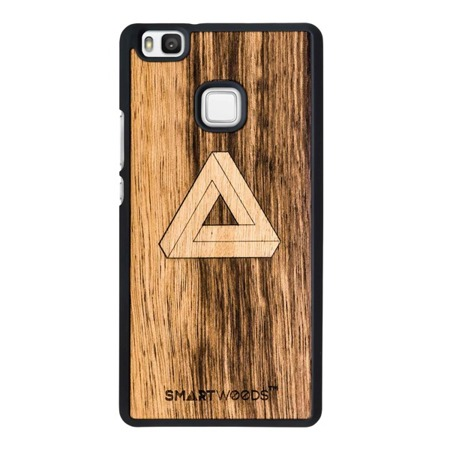 CASE WOODEN SMARTWOODS TRIANGLE HUAWEI P9 LITE