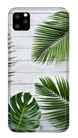 CaseGadget CASE OVERPRINT GREEN LEAVES IPHONE 11 PRO  MAX