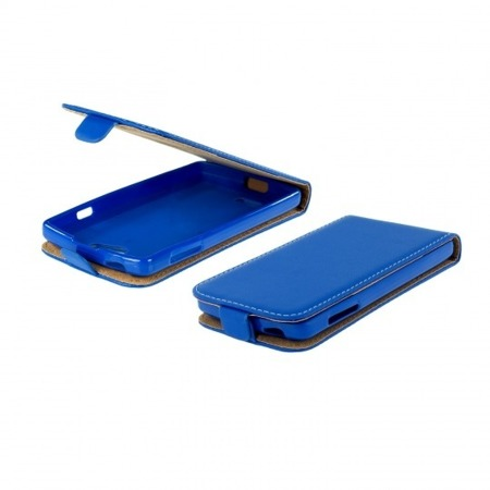 FLIP CASE BLUE SCREEN LG X