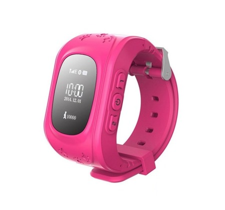 SMART WATCH FOR CHILDREN GPS FOR PARENTS Q50 PINK