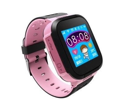 SMART WATCH FOR CHILDREN PINK K01 GPS LOCATOR