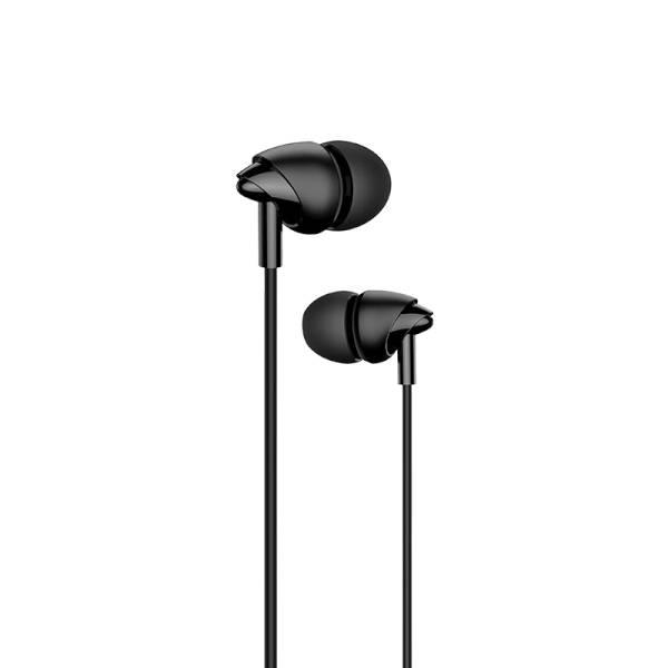 USAMS EP-39 In-Ear Stereo Headset 3,5mm Black