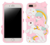 CASE 3D UNICORN AND CHILDREN PINK SAMSUNG GALAXY 2018 J4