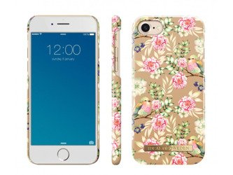 CASE ETUI iDEAL OF SWEDEN IPHONE 6 / 6S / 7 / 8 CHAMPAGNE BIRDS
